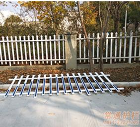 PVC围墙护栏安装